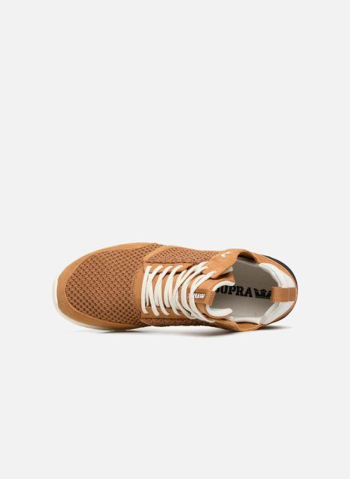 Sneaker Supra Method braun ansicht von links