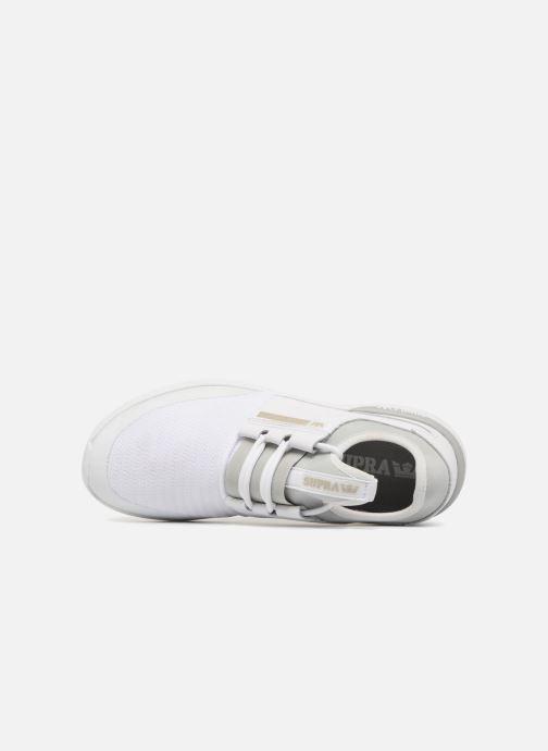 Sneakers Supra Flow Run Hvid se fra venstre