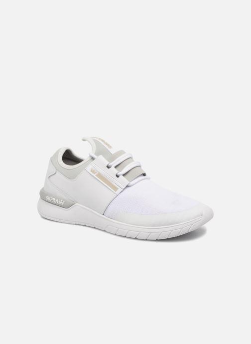 Sneakers Supra Flow Run Hvid detaljeret billede af skoene