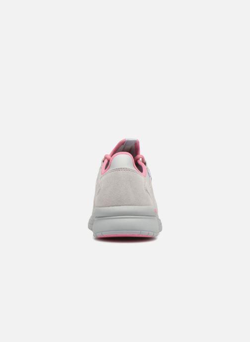 Sneaker Supra Flow Run grau ansicht von rechts