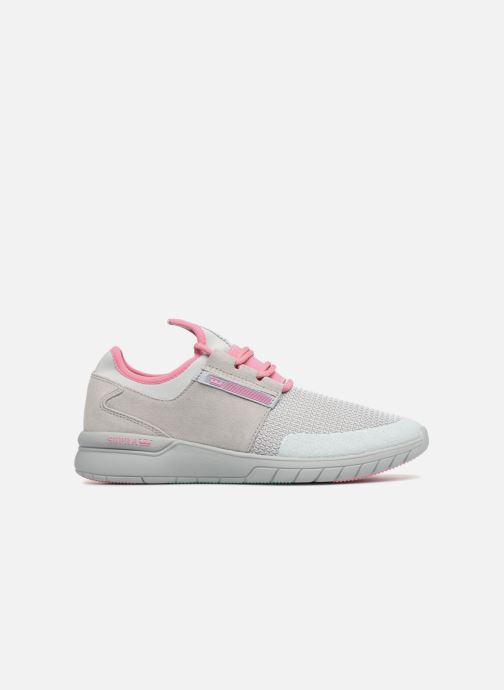 Sneaker Supra Flow Run grau ansicht von hinten