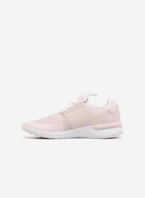 Sneaker Supra Flow Run rosa ansicht von vorne