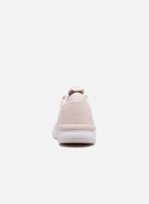 Trainers Supra Flow Run Pink view from the right