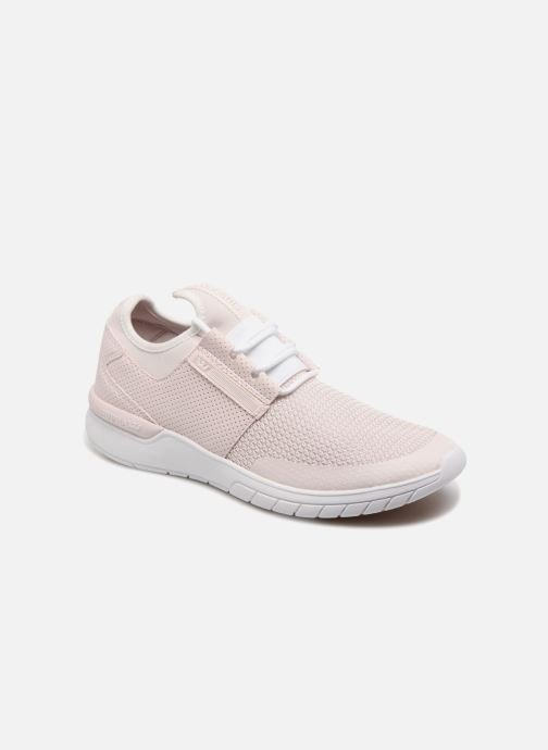 Trainers Supra Flow Run Pink detailed view/ Pair view