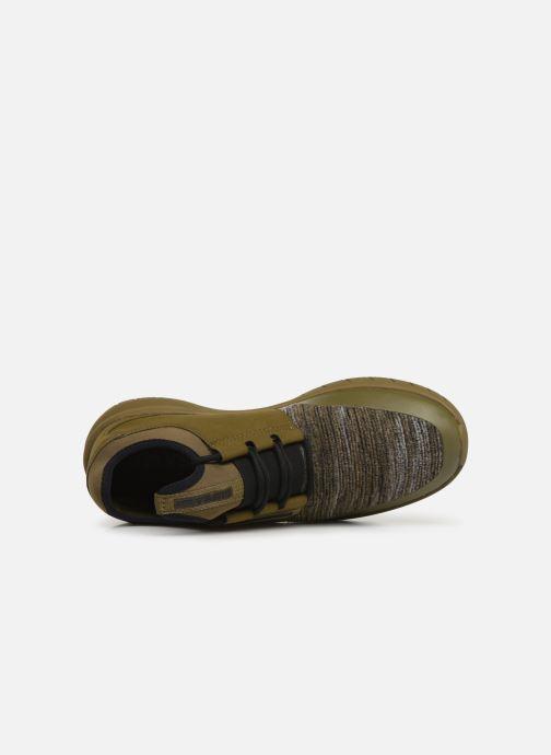 Baskets Supra Flow Run Vert vue gauche