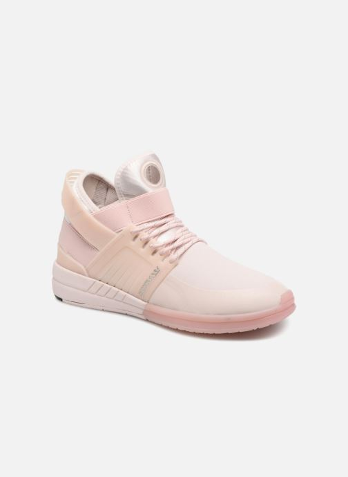 Sport shoes Supra Skytop V Pink detailed view/ Pair view