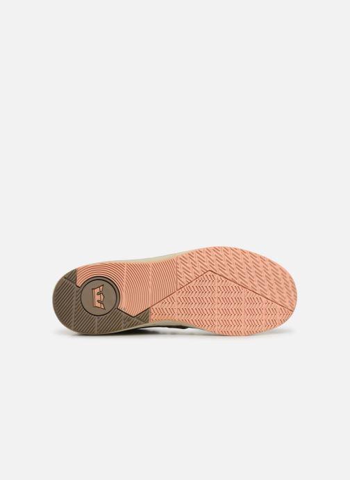 Chaussures de sport Supra Skytop V Vert vue haut