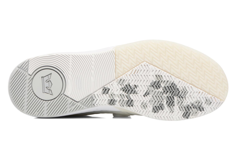 Chaussures de sport Supra Skytop V Blanc vue haut