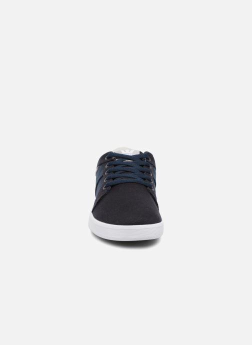 Baskets Supra Ineto Bleu vue portées chaussures