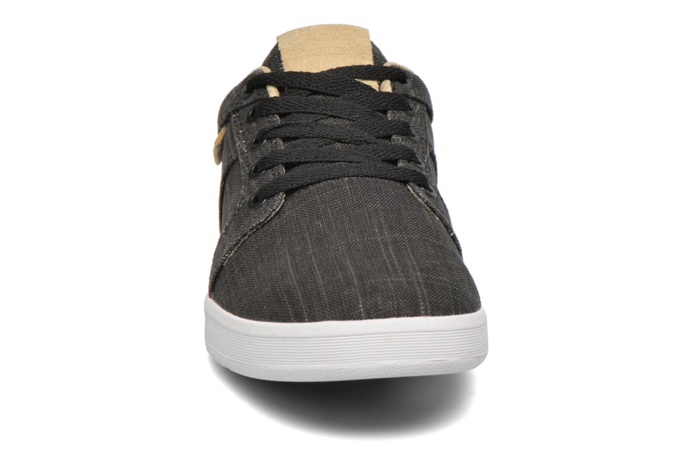 Baskets Supra Ineto Noir vue portées chaussures
