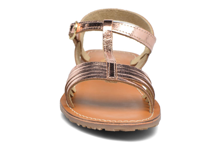 Sandales et nu-pieds L'Atelier Tropézien Margot Or et bronze vue portées chaussures
