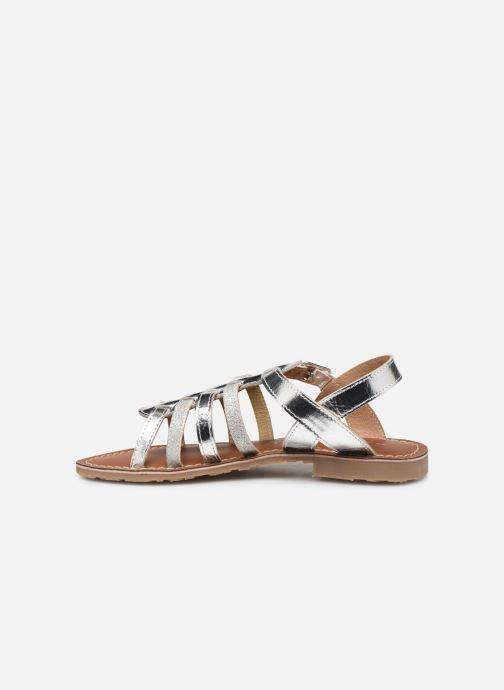 Sandales et nu-pieds L'Atelier Tropézien Mathilde Argent vue face