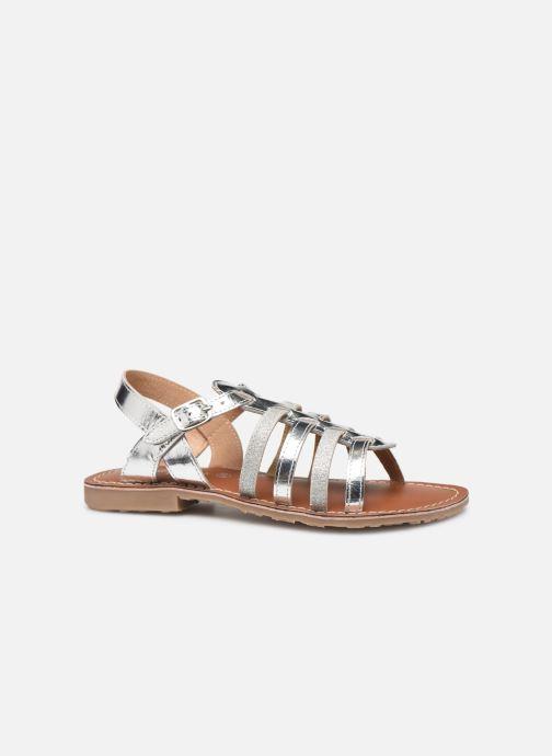 Sandales et nu-pieds L'Atelier Tropézien Mathilde Argent vue derrière