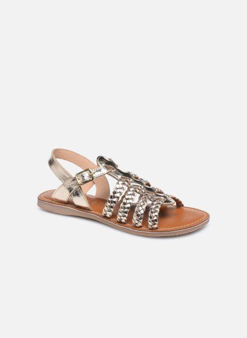 Sandali e scarpe aperte L'Atelier Tropézien Mathilde Oro e bronzo vedi dettaglio/paio