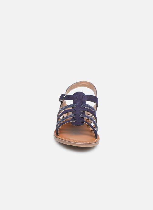 Sandales et nu-pieds L'Atelier Tropézien Mathilde Bleu vue portées chaussures