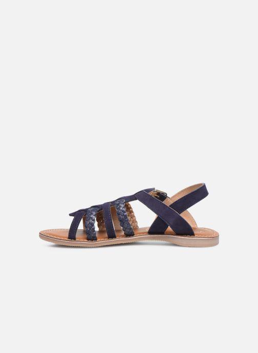 Sandales et nu-pieds L'Atelier Tropézien Mathilde Bleu vue face