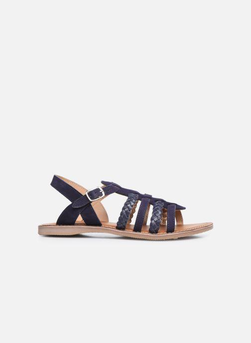 Sandales et nu-pieds L'Atelier Tropézien Mathilde Bleu vue derrière