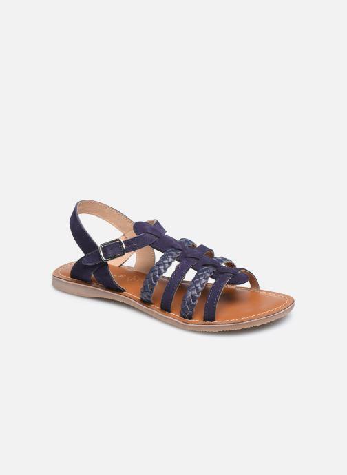 Sandales et nu-pieds L'Atelier Tropézien Mathilde Bleu vue détail/paire