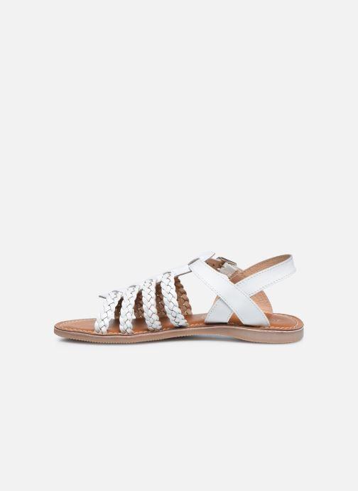 Sandali e scarpe aperte L'Atelier Tropézien Mathilde Bianco immagine frontale
