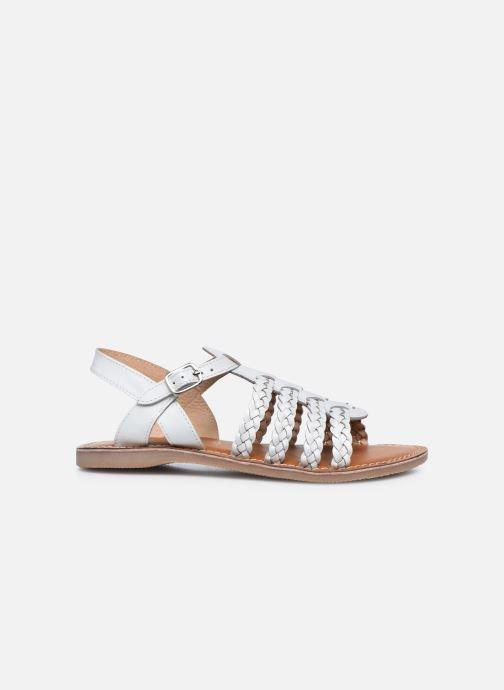 Sandali e scarpe aperte L'Atelier Tropézien Mathilde Bianco immagine posteriore