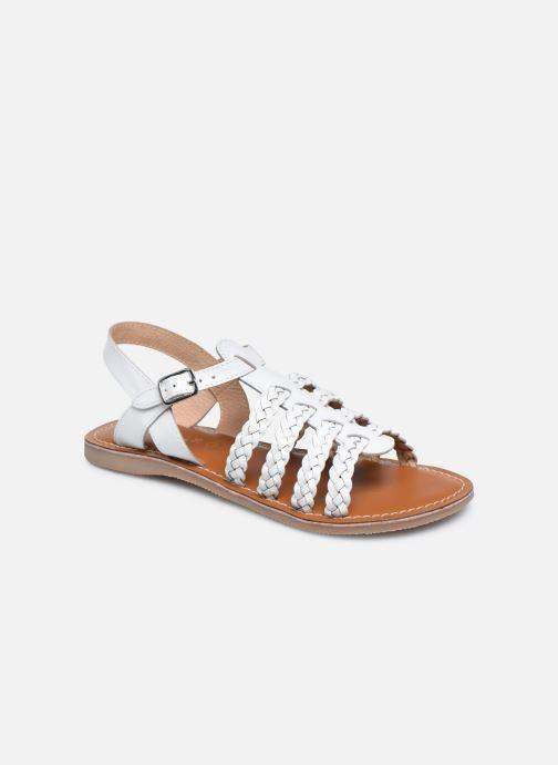 Sandali e scarpe aperte L'Atelier Tropézien Mathilde Bianco vedi dettaglio/paio