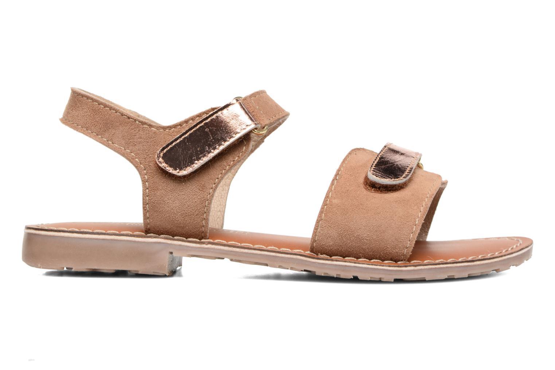 Sandals L'Atelier Tropézien Clémence Brown back view