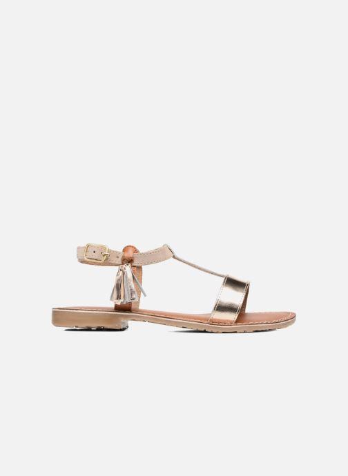 Sandales et nu-pieds L'Atelier Tropézien Aurélia Or et bronze vue derrière