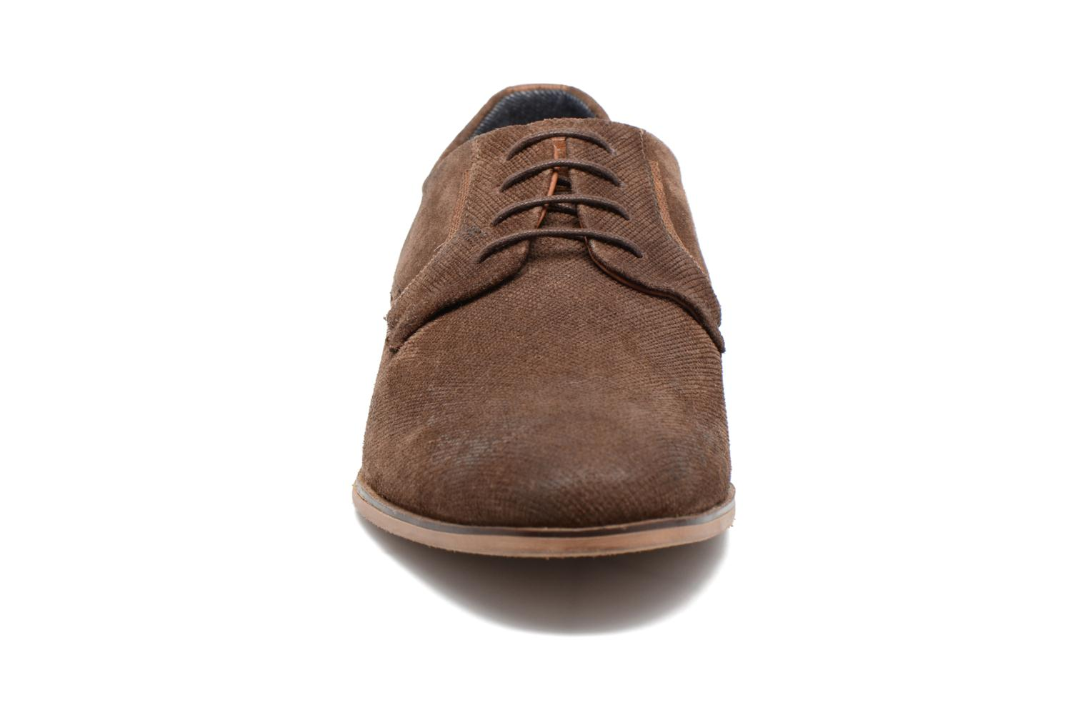 Lace-up shoes Redskins Nesko Brown model view