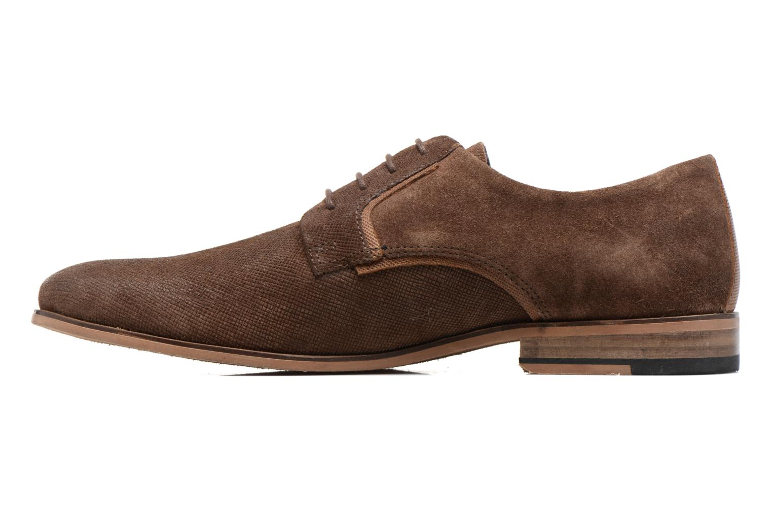 Lace-up shoes Redskins Nesko Brown front view