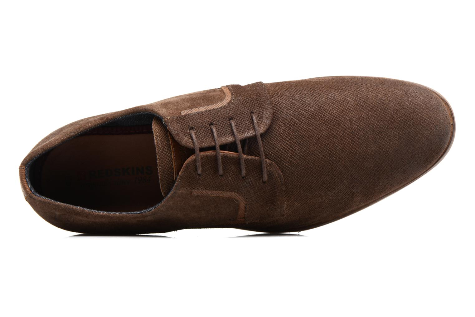 Lace-up shoes Redskins Nesko Brown view from the left