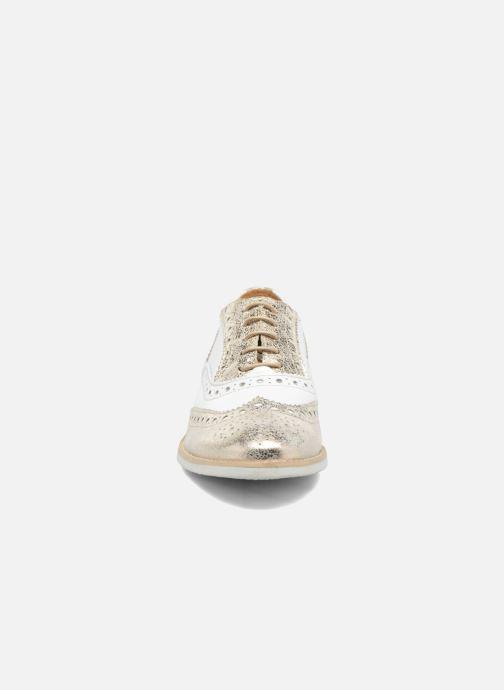 Chaussures à lacets Georgia Rose Ninish Or et bronze vue portées chaussures