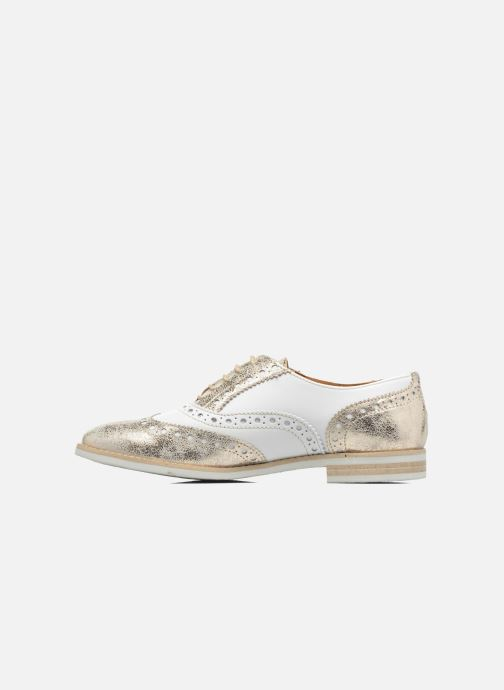 Chaussures à lacets Georgia Rose Ninish Or et bronze vue face