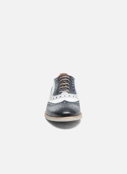 Chaussures à lacets Georgia Rose Ninish Bleu vue portées chaussures