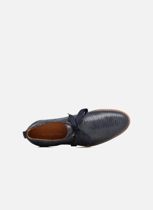 Chaussures à lacets Georgia Rose Nitin Bleu vue gauche