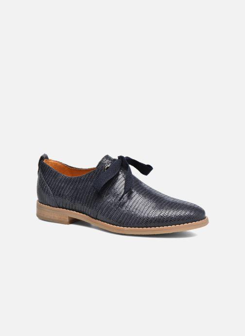 Chaussures à lacets Georgia Rose Nitin Bleu vue détail/paire