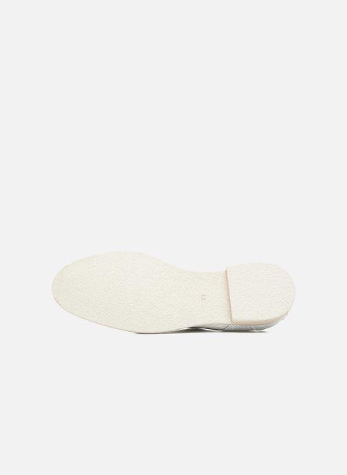 Chaussures à lacets Georgia Rose Nitrou Blanc vue haut