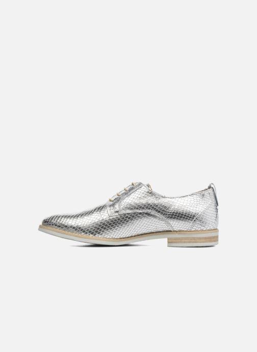 Chaussures à lacets Georgia Rose Nitrou Argent vue face