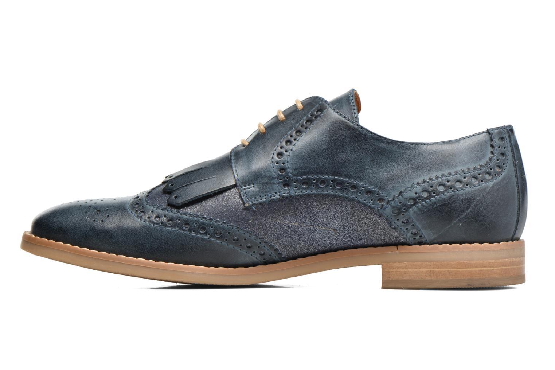 Zapatos con cordones Georgia Rose Nibule Azul vista de frente