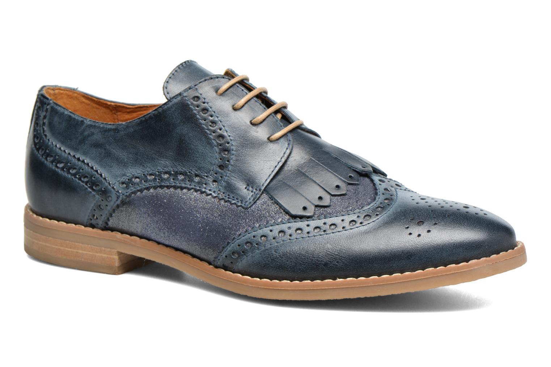 Zapatos con cordones Georgia Rose Nibule Azul vista de detalle / par