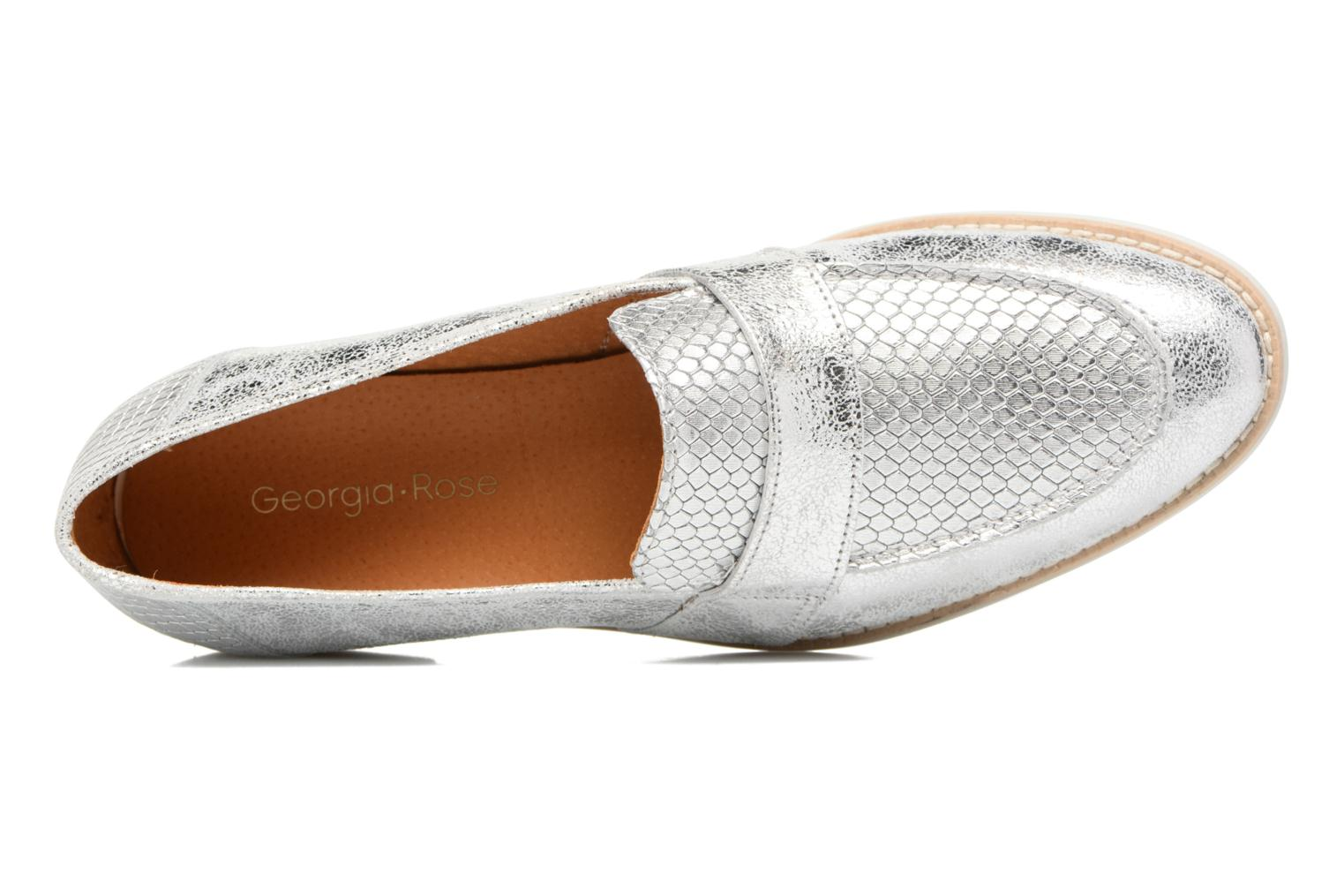 Loafers Georgia Rose Ninarck Silver view from the left