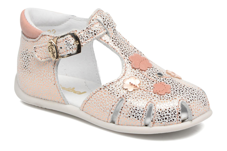 Sandaler Minibel Madison Pink detaljeret billede af skoene