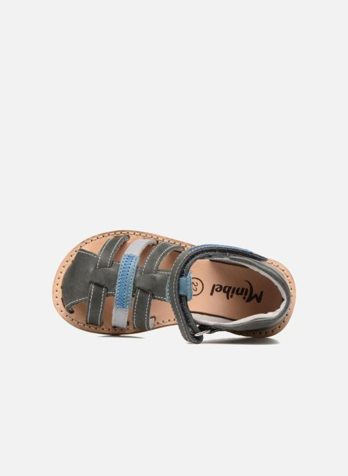 Sandali e scarpe aperte Minibel Matchy Azzurro immagine sinistra