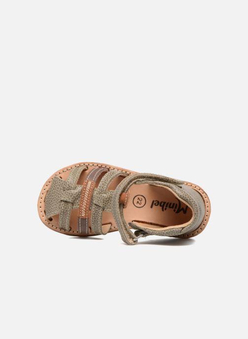 Sandaler Minibel Matchy Brun se fra venstre