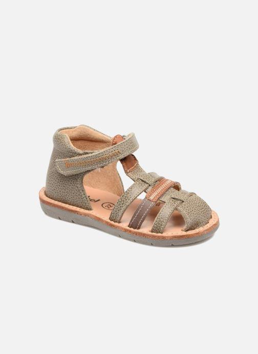 Sandaler Minibel Matchy Brun detaljeret billede af skoene