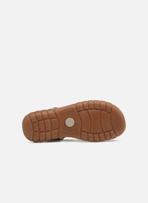 Sandals Minibel Mike Beige view from above