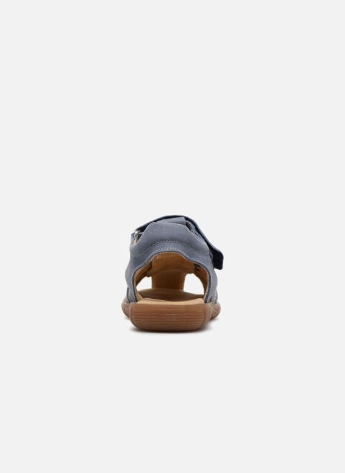Sandales et nu-pieds Minibel Mike Bleu vue droite