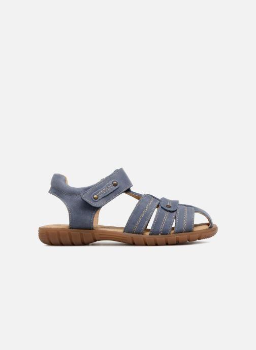 Sandales et nu-pieds Minibel Mike Bleu vue derrière