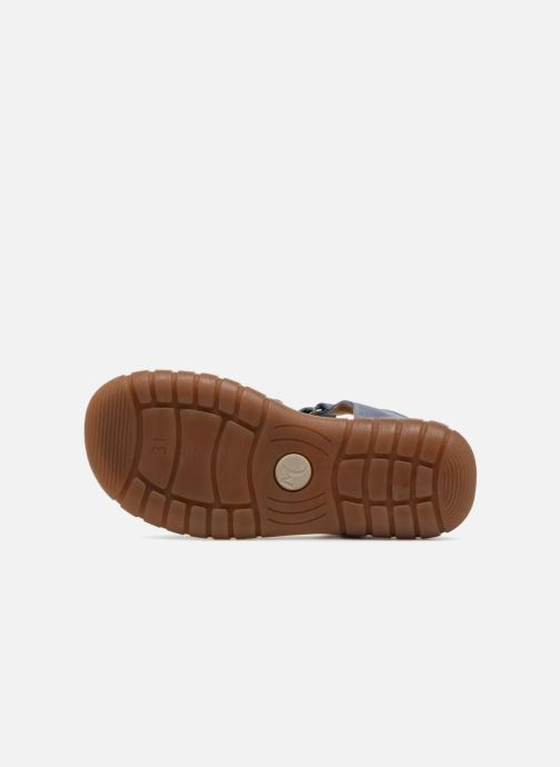 Sandales et nu-pieds Minibel Mike Bleu vue haut