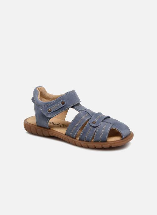 Sandales et nu-pieds Minibel Mike Bleu vue détail/paire