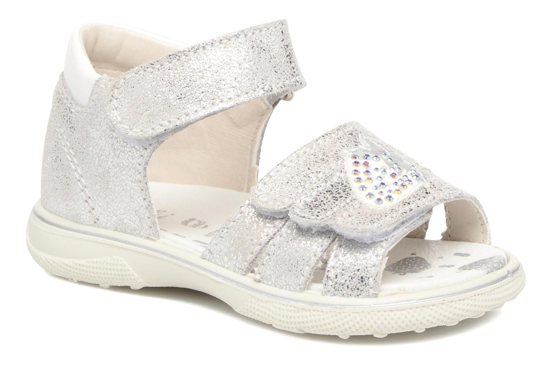 Sandales et nu-pieds Lurchi by Salamander Tinki Argent vue détail/paire